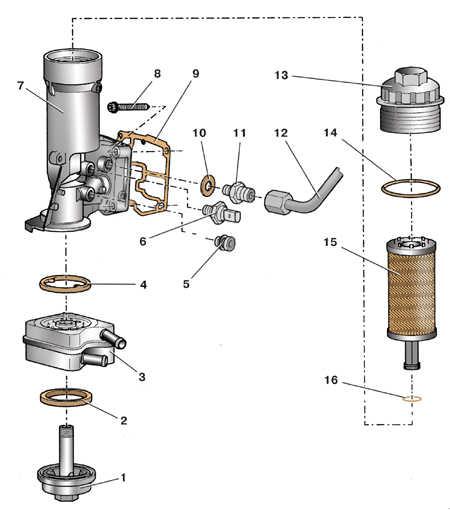 3.4 Масляный фильтр дизельного