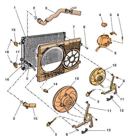 Радиатор системы охлаждения 1